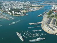 harbour aerian view